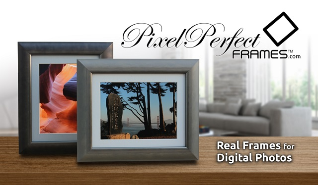 PixelPerfectFrames - Real Frames for Digital Photos